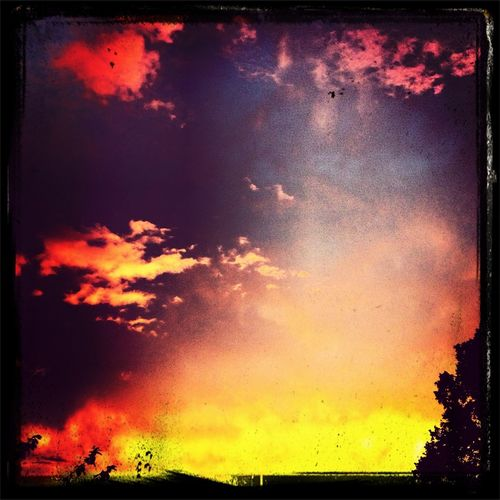 Sky meets heaven