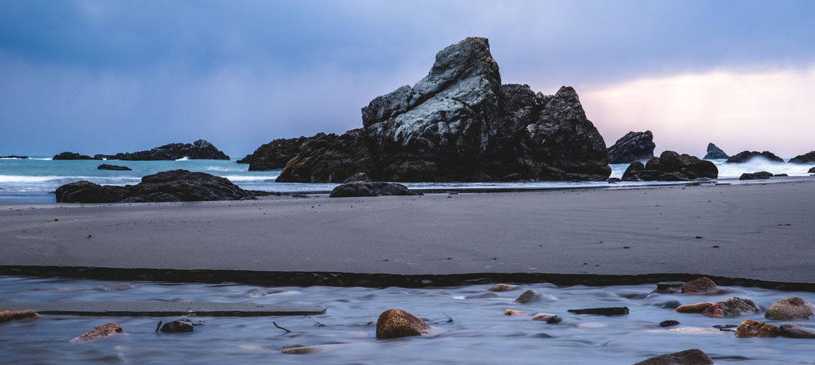 Beautiful Southern Oregon coastal landscape Brookings Coastline Coastline Landscape Oregon Oregon Beauty Pacific Northwest  Beach Beauty In Nature Coast Cold Temperature Day Nature No People Ocean Oregon Coast Oregon Explored Oregoncoast Oregonexplored Outdoors Rock - Object Samuel H Boardman Scenics Sea Sky Tranquil Scene Tranquility Water