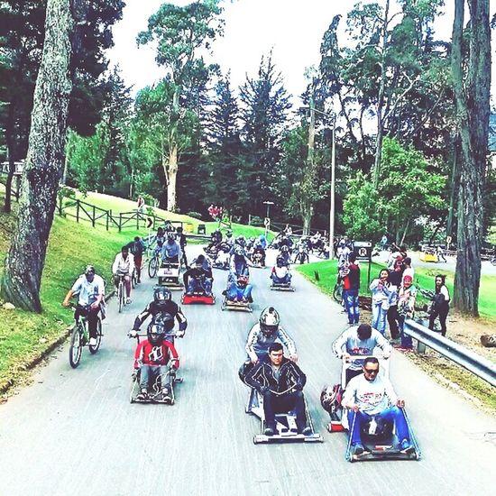 Carrera de balineras ParqueNacional Bogotá Colombia