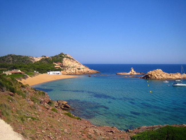 Cala Pregonda (Menorca, Spain) Menorca Sea Beach Summer