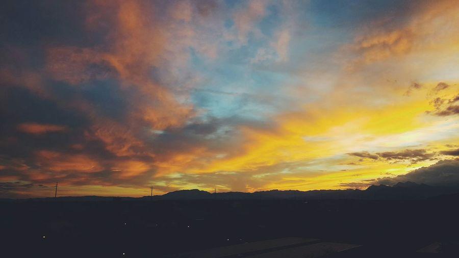 Vegas  Vegas Sunsets
