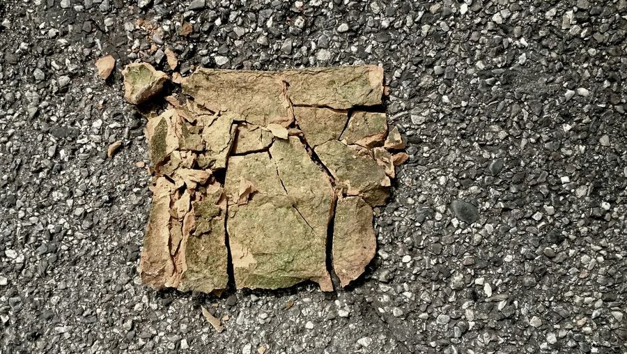 Light And Shadow Streetphotography Stone Broken