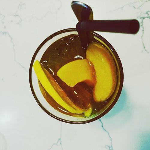 Peach Tea Icedpeachtea