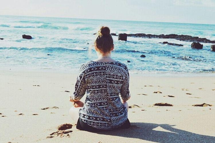 Ballito Ocean Beach Meditate OM Buddha Southafrica Morningmeditation Beachmeditation