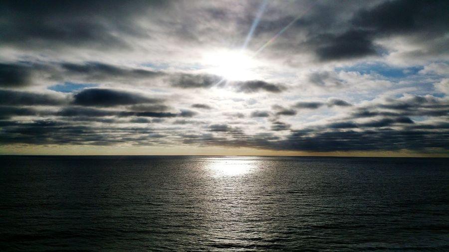Playas De Tijuana Summer Views 2016 Paradise Beach Cloudy Sky Blue Sky  Sun Afternoon