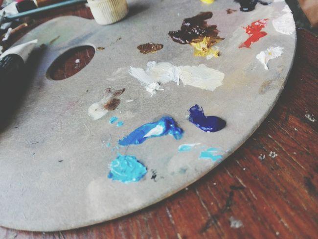 Close-up No People Pintura óleo Pasión