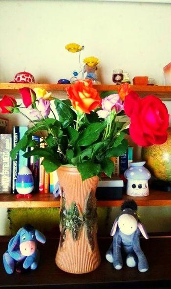 Roses🌹 Flowers Gift Beautiful ♥ Vase
