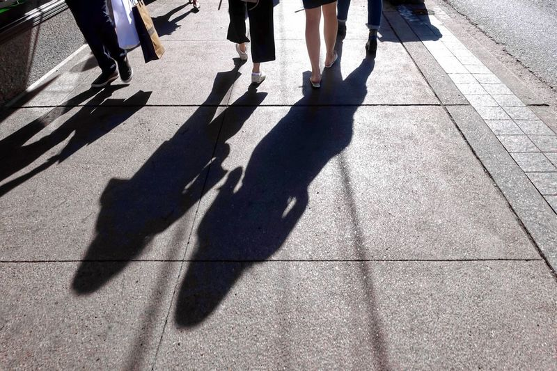 City Life Shopping ♡ Downtown District Downtown Walking Around The City  Relaxing Moments Shadow Streetphotography Street Style Style Street Fashion Fashion Girls Shadow Sunlight Low Section Group Of People Human Leg Body Part Human Body Part City Real People Street High Angle View Lifestyles Women Focus On Shadow Human Limb People #urbanana: The Urban Playground