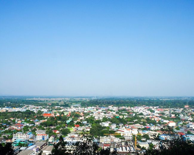 UthaiThani Thailand Sky Nature Water Sea Copy Space Blue Beauty In Nature Clear Sky Day City Outdoors Building Exterior