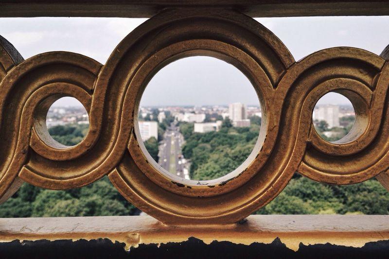 Berlin From Above Victory Landmark Horizont