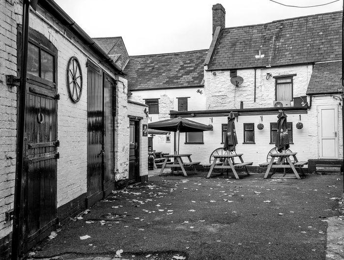 Stables, The Old Black Lion, Black Lion Hill, Northampton Architecture Black And White Northampton Monochrome Pubs Northampton Pubs