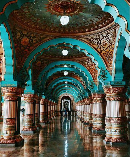 Arch Architecture Indoors  Travel Destinations Built Structure Architectural Column No People