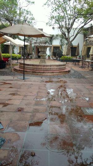 Rainy Days Relaxing Hacienda Beauty