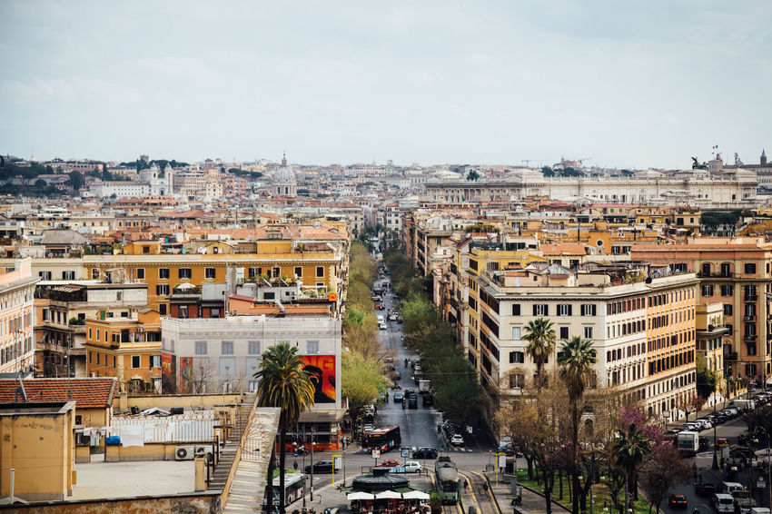 Cityscape Moving around Rome Rome Stories From The City Architecture Building Exterior Built Structure City Cityscape Go Higher High Angle View Outdoors Sky Travel Destinations