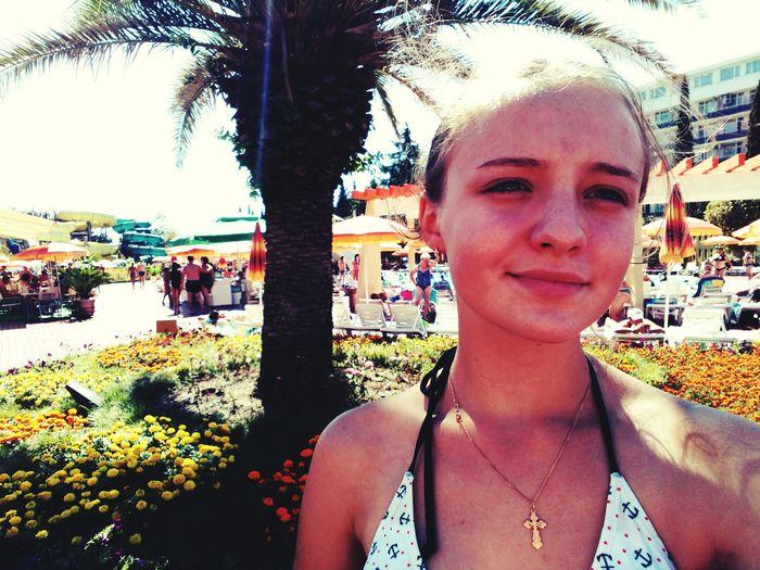 Relaks That's Me Hello ❤ Hello World Great Atmosphere Selfi Relaxing Walk Blaksea Sea Akvapark