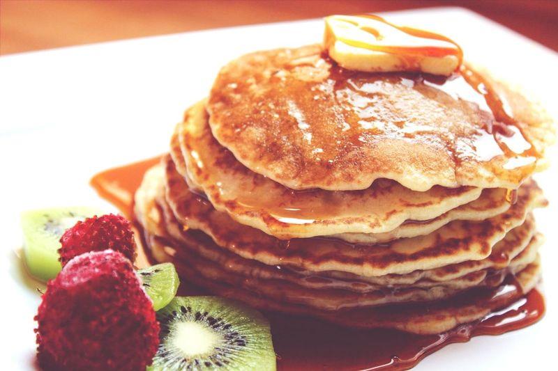 Pancakes Homemade تسلم يديني بانكيك