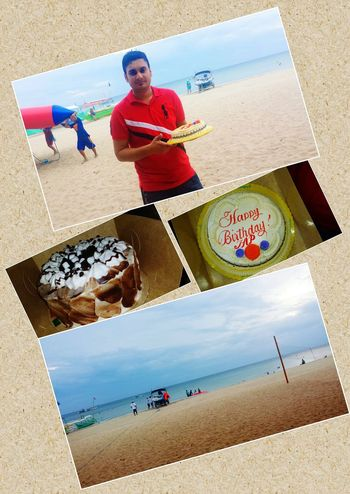 Late upload--Celebrating Birthday at the BEACH.. oct. 31 Celebrating My Birthday On The Beach