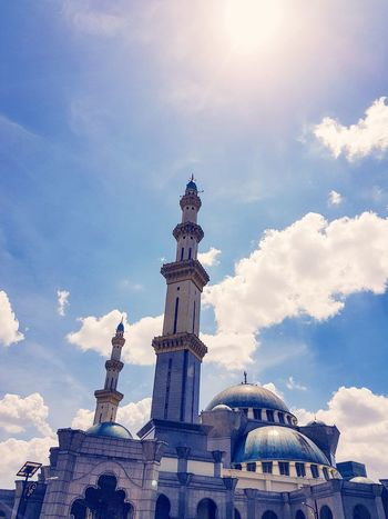 A Mosque under the sun in Kuala Lumpur #Mosque