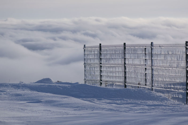 Top View Above The Clouds Above The City Above View Clouds And Sky Fog Fance View Wall Fog In The City Cloudy Day Water Cold Temperature Winter Snow Mountain Rural Scene Sky Cloud - Sky Weather Foggy Snowfall Extreme Weather