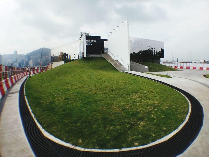 Architecture Urban HongKong M+ Building Mirror Mirrorcladded