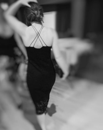 LBD Rear View Real People One Person Model Women Standing Young Adult Indoors  Young Women Day Adult People Lbd