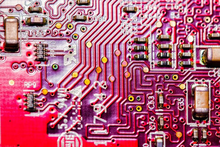 Circuit Board Pattern Directly Above Close-up Close Up Technology Technology Electronics Industry Laptop Parts Fresh On Market 2017