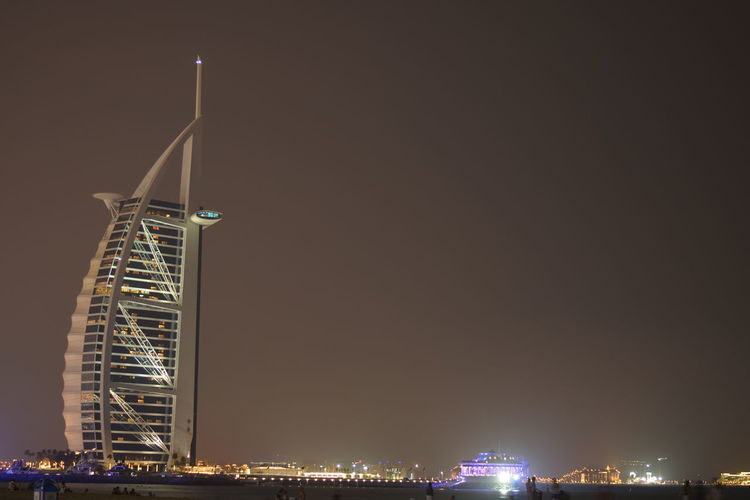 Architecture Burj El Arab Cityscape Dubai❤ Nightphotography Summertime Travel Destinations