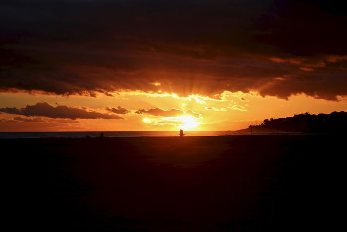 Garraf Sunset_collection Vilanova I La Geltru Beach Beauty In Nature Cloud - Sky Horizon Over Water Nature No People Orange Color Outdoors Scenics Sea Silhouette Sky Sun Sunset Tranquil Scene Tranquility Travel Destinations Water An Eye For Travel