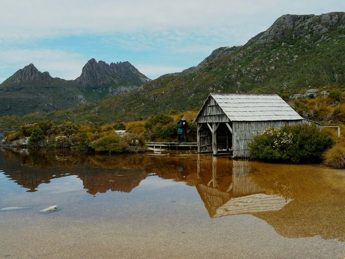 Today I married the most amazing lady here at this amazing place! 💜🐦 💏 Cradle Mountain Eloped Tasmania Dove Lake Olympus OM-D E-M5 Mk.II