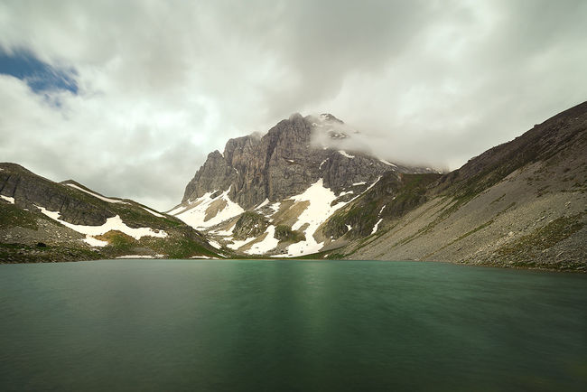 "The ""Xeroloucha"" alpine lake on Mt. Timfi in Epirus, Greece Adventure Cliff Clouds Cloudy Day Dragonlake Epirus Glacier Grass Greece Hellas Lake Landscape Mountain Mountain Range Mountains Mountaintop Outdoors Peak Pond Sky Snow Travel VisitGreece Winter"