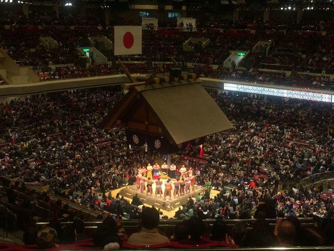 相撲 両国国技館 Sumo Ryogoku Japan Enjoying Life