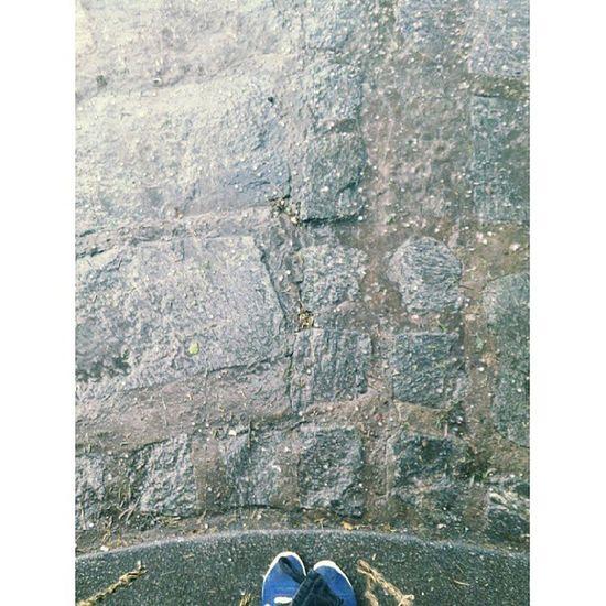 Me quede atrapada.. se largo con granizo y todo! La calle esta blanca! Granizo Atrapada Trapped Rain granizo lluvia tormenta