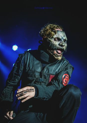 Corey Taylor of Slipknot. Night Portrait EyeEm Best Shots Eye4photography  Concert Music <3 Stage Light Band Singing Live Event Guitar Popular Music Concert Heavy Metal Guitarist Music Festival Arts Culture And Entertainment Rock Music Musician Artist Music Performance Louderthanlife Singer  Performing Arts Event Slipknot