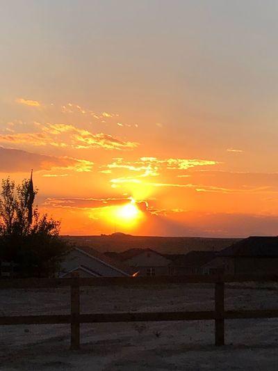 #SmokySunset Sunset Sky Scenics - Nature Beauty In Nature Cloud - Sky