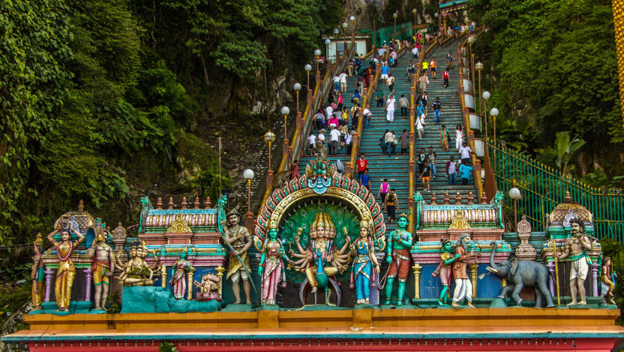 Tomorrow this place is going to be full of people...Thaipusam Celebration Large Group Of People Outdoors Day Nature Landscape_Collection Nature Multi Colored Multi Coloured Celebration Celebration Event Lieblingsteil Miles Away Place Of Worship Places Of Worship Minimalist Architecture EyeEmNewHere Neighborhood Map