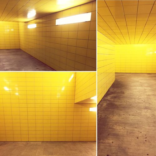 Yellow out Yellow Underground Ceiling Color Explosion Color