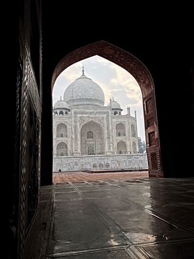 Arch Architecture History Travel Destinations Dome Tourism Indoors  Day No People Taj Mahal India