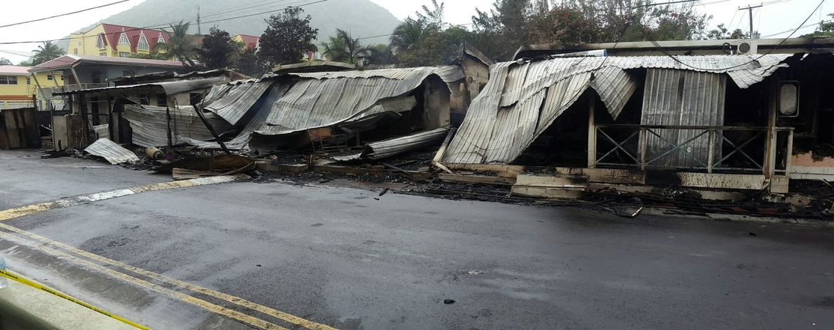 Things lost in the fire... Rodneybay Fire Rubble Ashes Saintlucia Caribbean