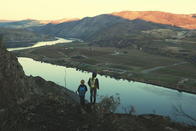 Lake Two People