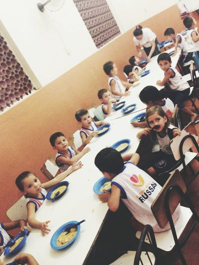 Live To Learn Childfund Brazil School ChildFund supports this school near Fortaleza. Children enjoy their lunch inbetween classes.