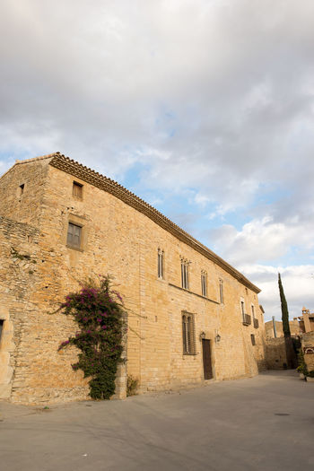 Catalonia Country Rural SPAIN Architecture Building Exterior Built Structure Cloud - Sky Day Girón Medieval No People Old Outdoors Peratallada Sky