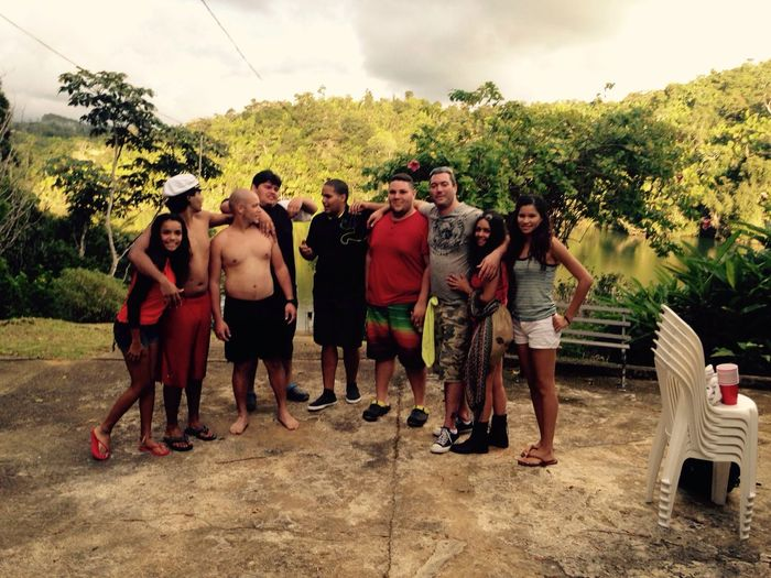 Hanging Out The Best Moments Enjoying Life with my team in lake house in Puerto Rico