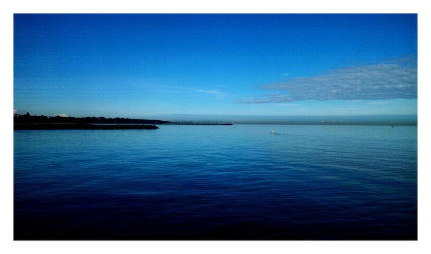 Brighton beach Blue Water Nature Day Ocean