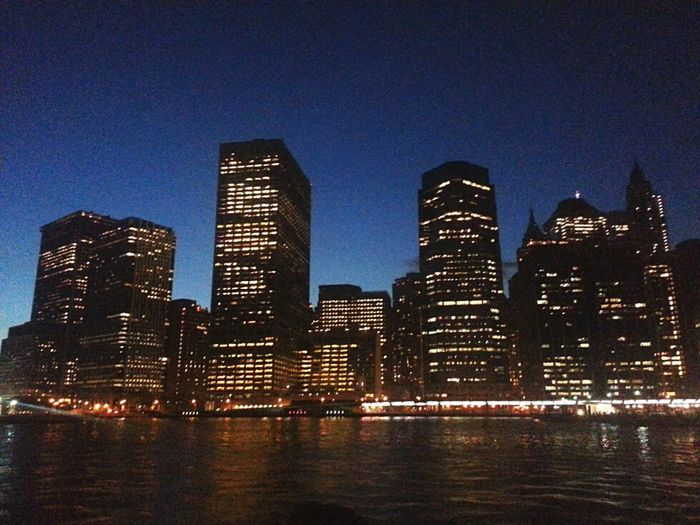New York City NY Manhattan City Night Lights Taking Photos Check This Out Fun Hello World