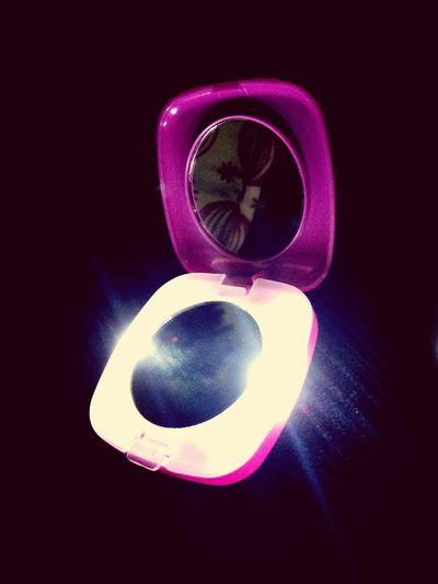 My vanity mirror :)
