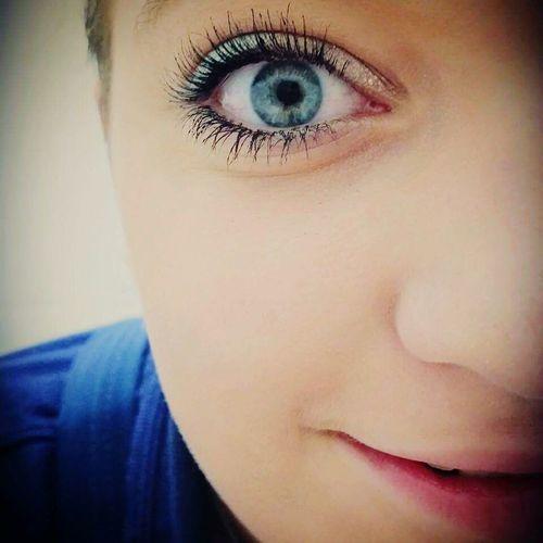 Die Augen spiegeln das Bild der Seele