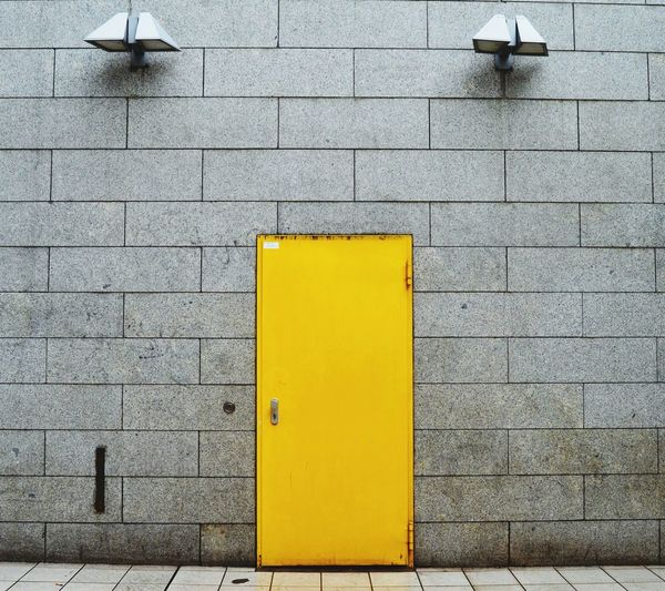 Door Doors Home Yellow Color Yellow Arsitecture Lifestyle Stay Home Fresh Yellow