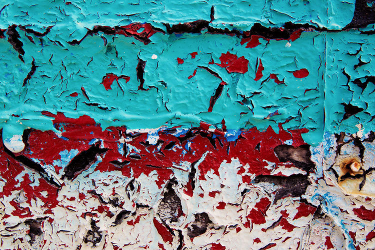 Creativity Backgrounds Bad Condition Blue Design Deterioration Exfoliate Exfoliated Paint Flaky Flaky Paint Full Frame Old Old Paint Paint Ruined Textured  EyeEmNewHere