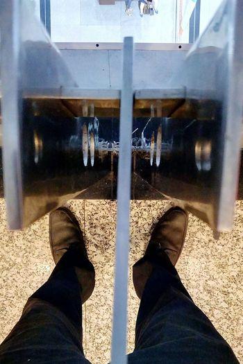 Mirror Image Photography Symmetrical Human Leg Standing SSClickpix SSClickPics SSClicks Outdoors Mobile Camera Photography Mobile Phone Photography A New Perspective On Life