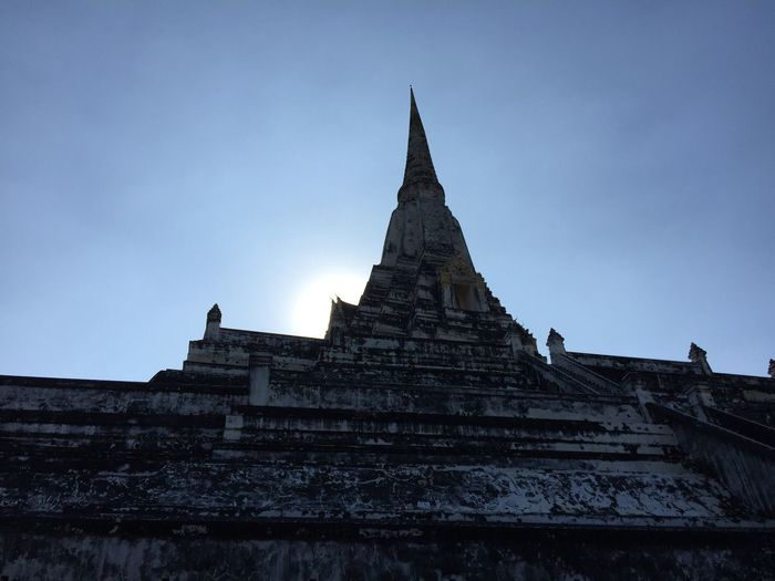ancient architecture covered by the sun. Architecture Religion Ancient Travel History No People Ancient Civilization Thailand